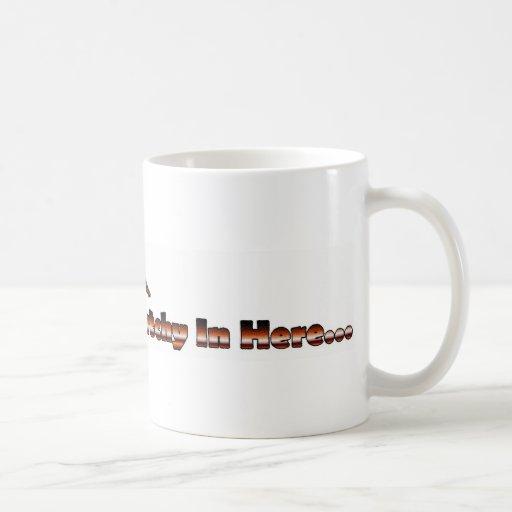 smelling squatchy mugs
