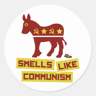 Smells Like Communism Classic Round Sticker