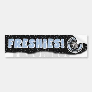 Smells Like Snow! Freshies Bumper Sticker