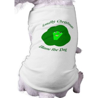 Smelly Christmas Brussels Sprout Custom Dog Shirt