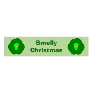 Smelly Christmas Brussels Sprout Custom Napkin Band