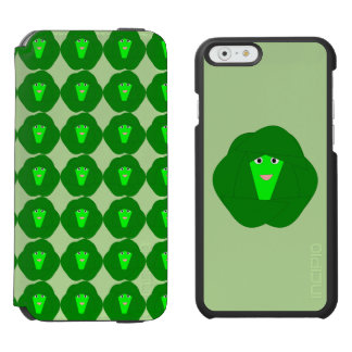 Smelly Christmas Brussels Sprout iPhone Case Incipio Watson™ iPhone 6 Wallet Case