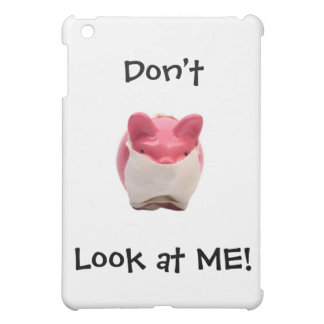 Smelly Pink Pig Case For The iPad Mini