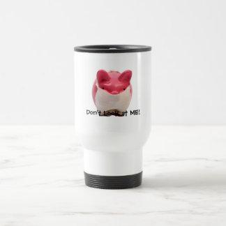 Smelly Pink Pig Travel Mug