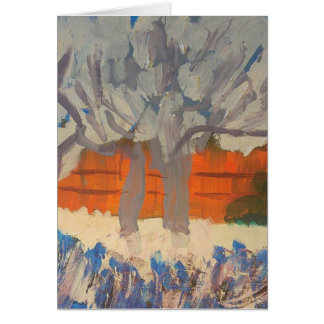 "Smeraldo Gallery ""Pink Peach Trees"" Card"