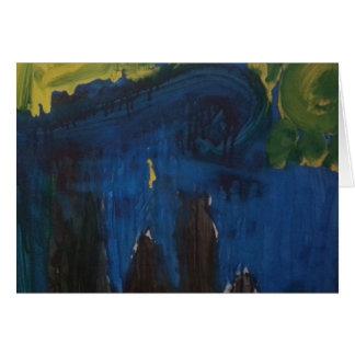 "Smeraldo Gallery ""Starry Night Intepretation"" Card"