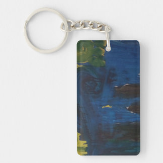"Smeraldo Gallery ""Starry Night interpretation"" Key Ring"