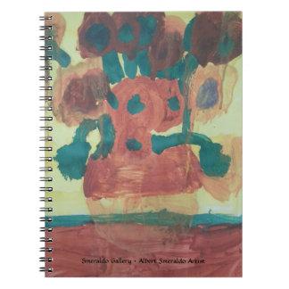 "Smeraldo Gallery ""Sunflower Interpretation"" Notebooks"