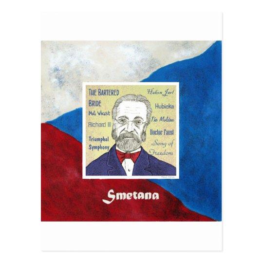 Smetana Postcard
