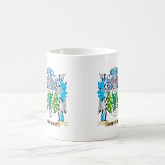 Smethurst Coat of Arms - Family Crest Basic White Mug