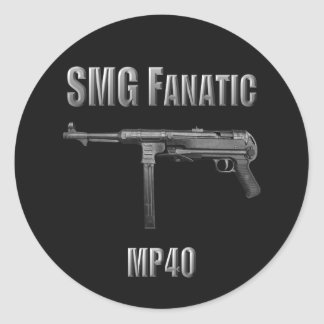 SMG Fanatic MP40 Sticker