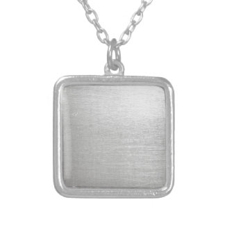 SMGG SILVER METALLIC GREY GRAY BACKGROUNDS WALLPAP PERSONALIZED NECKLACE