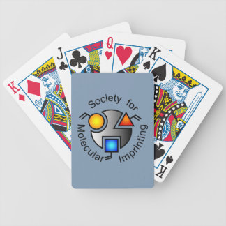 SMI logo playing cards grey