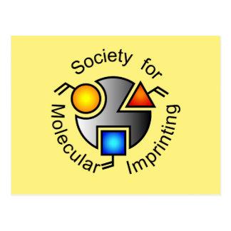 SMI logo postcard yellow