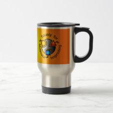 SMI logo travel mug