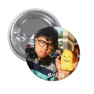 Smile! 3 Cm Round Badge
