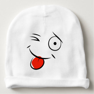Smile and Wink Baby Hat Baby Beanie