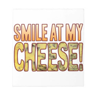 Smile At Blue Cheese Notepad