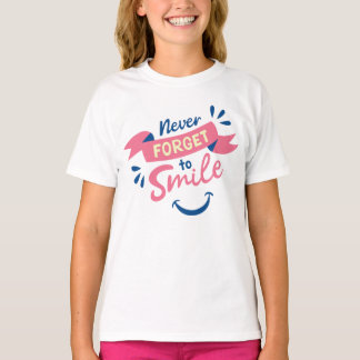 Smile Attitude Gratitude Motivational Dreams Goals T-Shirt