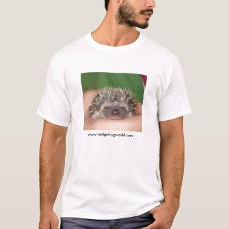 Smile! baby hedgehog tshirt