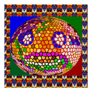 SMILE baby : Stained Glass Decorations Posters