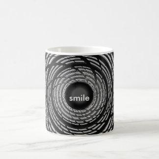 Smile black Morphing Mug