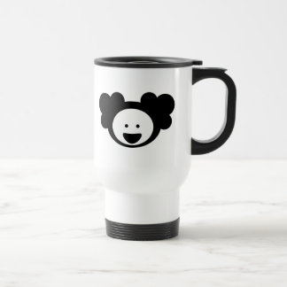 Smile(black Salamander) Travel Mug