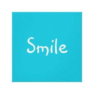 'Smile' Canvas Print