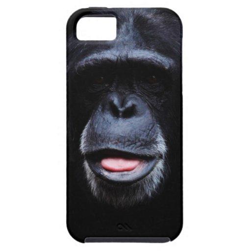 Smile Chimp Face iPhone 5 Case