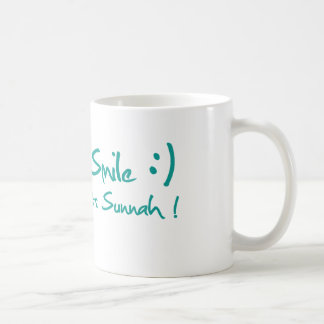 Smile Cups Basic White Mug