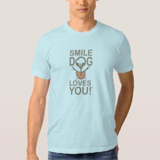 Smile, DOG Loves You! - Men's Basic T-Shirt