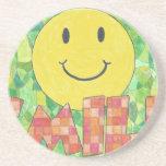 Smile Drink Coaster
