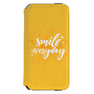 Smile Everyday Incipio Watson™ iPhone 6 Wallet Case