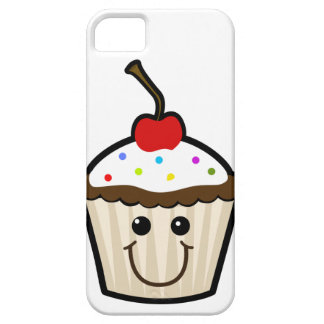 Smile Face Cupcake iPhone 5/5S Cases