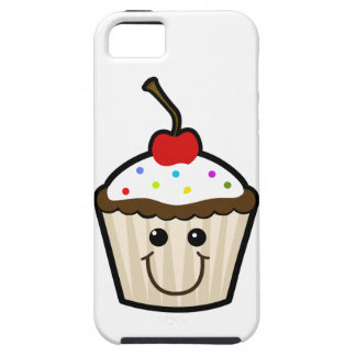 Smile Face Cupcake iPhone 5/5S Covers