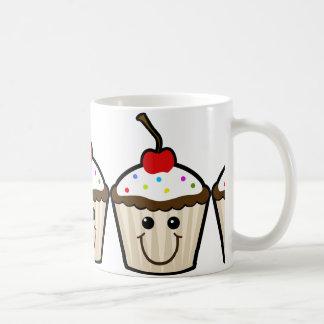Smile Face Cupcake Mug
