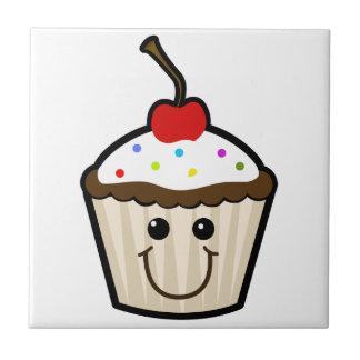 Smile Face Cupcake Tiles