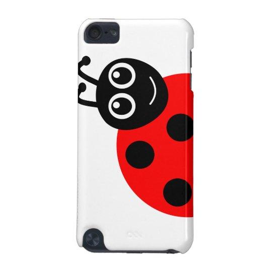 """""""Smile Face Ladybug"""" iPod Touch Case"""