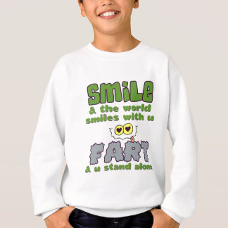 Smile Fart shirt - choose style & color