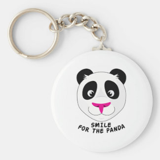 Smile For Panda Keychain