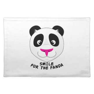 Smile For Panda Cloth Placemat