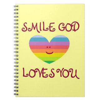 SMILE GOD LOVES YOU Notebook