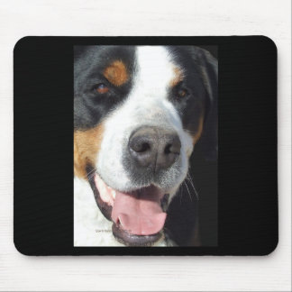 Smile Greater Swiss Mountain Dog Mousepad