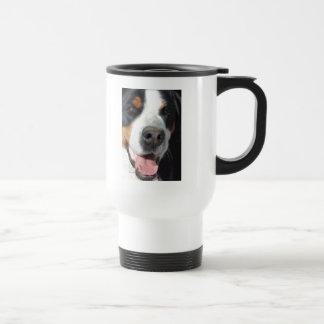 Smile Greater Swiss Mountain Dog Coffee Mug