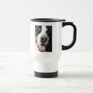 Smile! Greater Swiss Mountain Dog Travel Mug