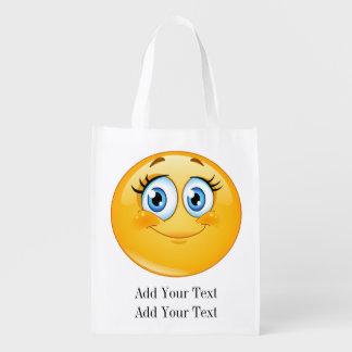 SMILE Grocery, Gift, Favor Bag - SRF