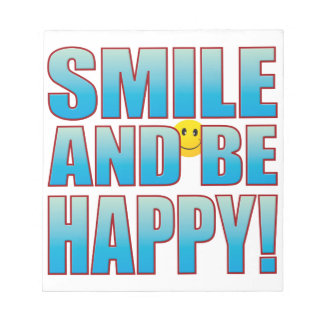 Smile Happy Life B Notepad