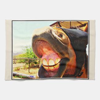 """Smile"" Horse Kitchen Towel"