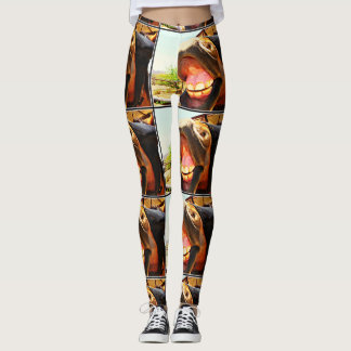 """Smile"" Horse Women's Leggings"