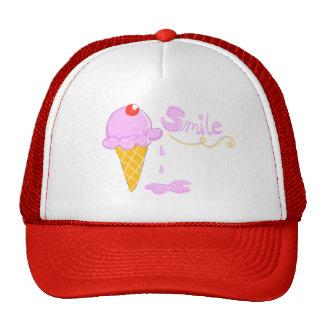 Smile Ice Cream Cap